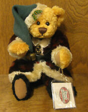 """Ganz Cottage #CC1340 SANTA PAWS, 10"""" Lorrance Chien LE New/Tag From Retail Store"""