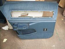 CAPRICE IMPALA DOOR PANEL DARK BLUE 91-96 LR CHEVY BUICK ROADMASTER