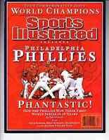 2008 Philadelphia Phillies World Series Champs Sports Illustrated Commemorative