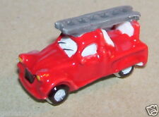 CITROEN 2CV AZU PICK UP POMPIERS 1965 FEVE PORCELAINE 3D 1/160