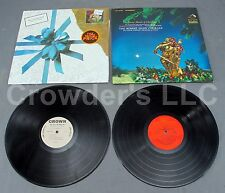 "5 12"" Vinyl Christmas Records Robert Shaw Willie Nelson Holly & Ivy Drummer Boy"