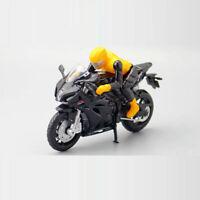 1:18 Scale Suzuki GSX-R1000 Motorcycle Model Diecast Sport Bike Toy Kids Black