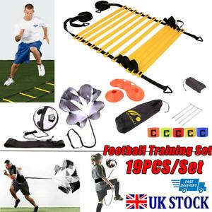 Speed Agility Ladder and Cone Bag Football Training Equipment Sports Team Set LL