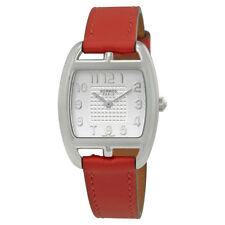 Hermes Cape Cod Silver Dial Ladies Leather Watch 042788WW00