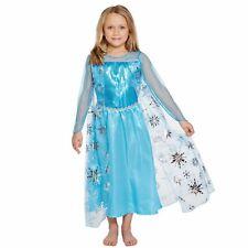 Ice Queen Elsa Frozen Child Fancy Dress Costume Dress 2-12 Years