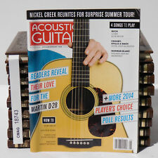 Martin D-28 Acoustic Guitar magazine Player's Choice Poll Results  August 2014
