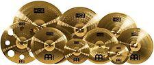 Meinl Drum Cymbals, Ultimate HCS 9 Pcs Set, Brass Trash Crash Free, 16-inch Pack