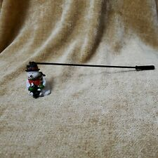 Christmas Holiday Decoration Snowman Candle Snuffer