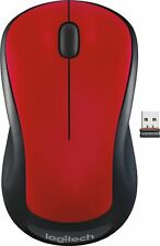 Logitech - M310 Wireless Optical Mouse - Works with Chromebook - Flame Red