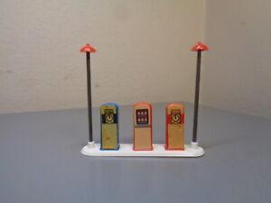 LEGO SYSTEM DENMARK VINTAGE 1950'S ESSO GAS STATION VERY RARE ITEM VERY GOOD