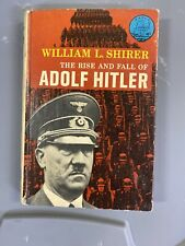 👀The Rise And Fall Of Adolf Hitler William L. Shirer W-47 Landmark Hardcover+DJ
