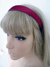 Red Shiny Satin 2.5cm School Girls Ladies Headband Hair band Aliceband Christmas
