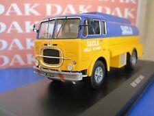 Die cast 1/43 Modellino Truck Camion Fiat 682N Cisterna Sacla 1966 by Ixo