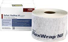 """DUPONT FLEXWRAP 9"""" x 75' TYVEK FLASHING TAPE for WINDOW DOOR JAMBS D14048062 NEW"""