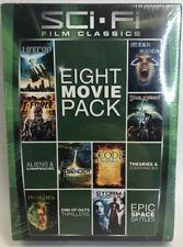 8 Sci-Fi Film Classics - Eight Movie Pack (Dvd) Brand New Science Fiction