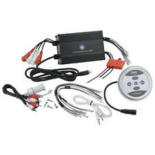 Pyle Bluetooth Marine Amplifier, 1200 Watt 4-Channel Water Resistant Amp