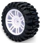 TRUCK Tire Set B 4PCS SQUARE DRIVE For FG Smartech Nutech Duratrax Carson 1/5 RC