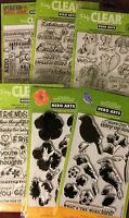 Hero Arts Poly Clear Stamps lot to choose from