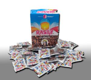Original RASILY SUPARI Sweet Supari- 48 Pouches-Pakistani Sweets-Mouth freshener