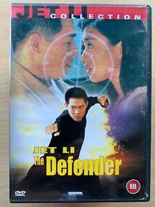 The Defender DVD 1994 Bodyguard from Beijing Hong Kong Martial Arts Movie Jet Li