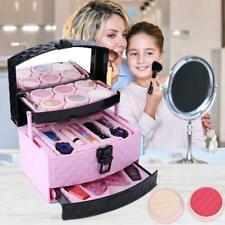 Princess Makeup Set For Kids Cosmetic Girls Gift Eyeshadow Lip Gloss Blushes ❤HP