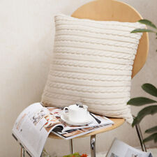 Fashion Cotton Knitted Pillow Case Decorative Square Throw Home Cushion Cover