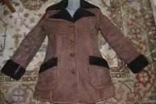 vtg 70s NORTH BEACH Leather NBL ROCKSTAR shearling suede WHIPSTITCH JACKET  m