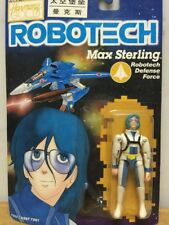 ROBOTECH Macross Harmony Gold Action Figure Max Sterling pilot RARE