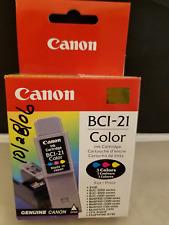 Cannon BCI-21 Tri-Color Ink Cartridge