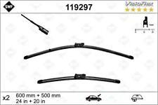 """SWF Front Wiper Blade 2pcs 600 500 mm 24/20"""" Fits AUDI A4 PORSCHE 4B0998002"""