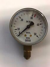 Ersatz-Manometer, Arbeitsmanometer Argon / CO2, Durchfluß max. 32 l/min