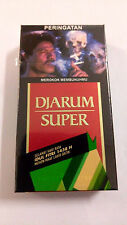 Djarum Super 5 Pack (5x12 Cigarettes) NEW,FRESH & SEALED Cigarette Collectible