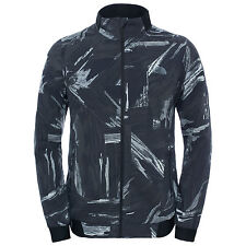 The North Face Mens RAPIDO MODA REFLECTIVE Running Cycling Safety Jacket Black M