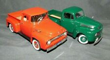 2 NATIONAL MOTORS FORD PICK UP TRUCK DIECAST 1:32 1956 & 1948  BOXED UNUSED F100