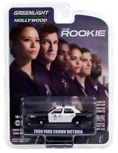 1:64 GreenLight *HOLLYWOOD R30* THE ROOKIE 2008 Ford Crown Victoria LA PD *NIP*
