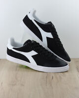 Diadora Scarpe Sportive Ginnastica Sneakers Lifestyle PITCH Canvas Nero
