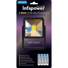 Infapower F047 ABS Body Super Bright 200 Lumens 3 Watt COB Mini Floodlight - Blk