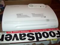FoodSaver Food Saver VAC800 Vacuum Sealer Machine; Food Storage; Works