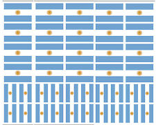 40 Removable Stickers: Argentina Flag, Argentinian Party Favors, Decals