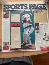 1984 sports page Chicago White Sox Lamar Hoyt Poster