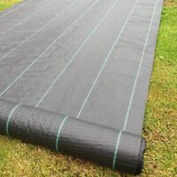 2m x 100m 100g Weed Control Ground Cover Membrane Fabric Heavy Duty
