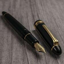 New SAILOR 1911 Large Profit Black 21K Gold M Medium Nib Fountain Pen