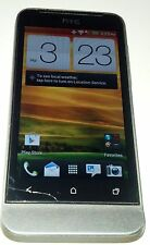 HTC One V 4GB Gray Unknown Carrier CDMA Smartphone Fair Condition Hairline Crack