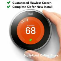 Certified: Nest 3rd Gen Learning Thermostat w/Base - T3007ES Stainless Steel /AD