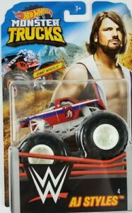 Hot Wheels Monster Truck WWE 1:64 The AJ Styles #4