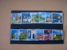 GREAT BRITAIN 12 DIFFERENT F/USED 1ST CLASS COMMEMS,CAT.V.£13,EXCELLENT.