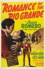 ROMANCE OF THE RIO GRANDE Movie POSTER 27x40