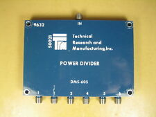 Technical Research and Manufacturing  DMS-605  1-2 GHz 6-way Power Divider