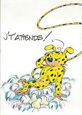 """CPM - Carte Postale MARSUPILAMI - """" ILLUSTRE par FRANQUIN """" ED TOUCAN - Réf 24"""