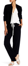 Theory Winszlee Wide Leg Trouser Black NWT $325